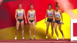 Cutest girls European Athletics Indoor  Belgrade 2017