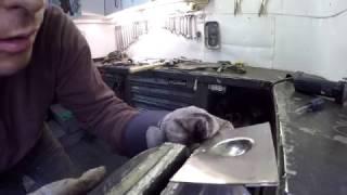 Comment former une tôle avec une technique de base ( metal shaping )