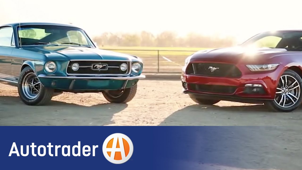 Ford Mustang | New vs. Classic | Autotrader - YouTube