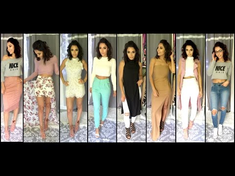 LookBook Haul & Idées tenues ♡