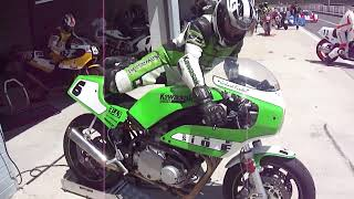 Old school superbikes ... HRC, EGLI, Bakker, Harris ...
