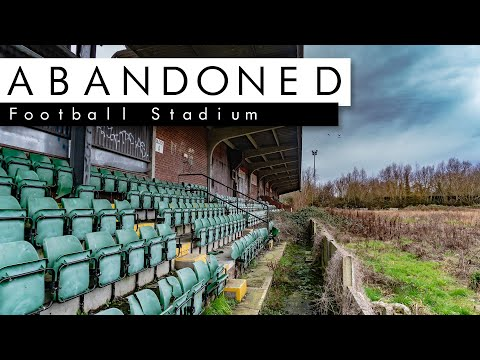 POLICE ARRIVE At Abandoned Aylesbury United Football Stadium!