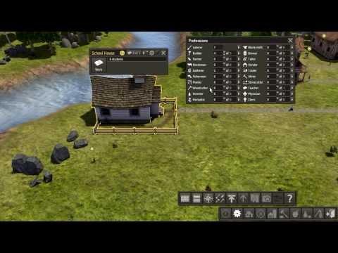 Обзор симулятора по постройке поселения! Banished (изгнанные).