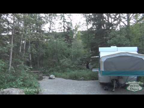 CampgroundViews.com - Whitefish Lake State Park Whitefish Montana MT Campground