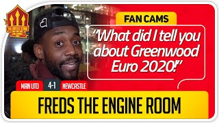 RANTS! United Were Clinical! Manchester United 4-1 Newcastle Fan Cam