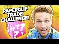 PAPERCLIP TRADE CHALLENGE AT COMIC-CON
