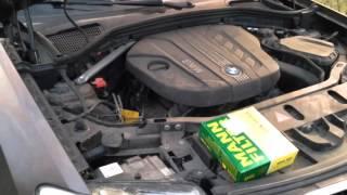 Замена салонного фильтра на BMW X3 f25