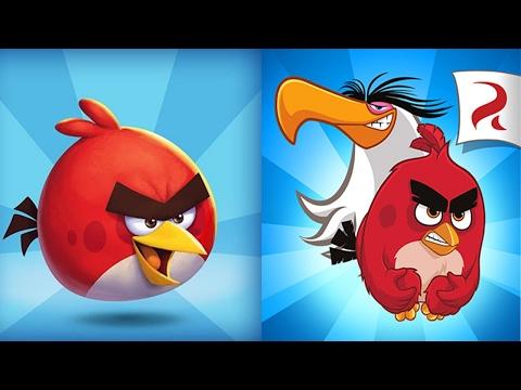 Обзор игры Angry Birds (Злые Птички) с Андромаликом (Вспоминаем 2009 Год)