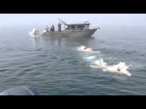 Alaska Fishing and Cook Inlet Swim