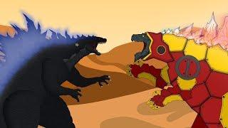 Legendary Godzilla vs Evolution of Godzilla Earth: Size Comparison   Godzilla Movie