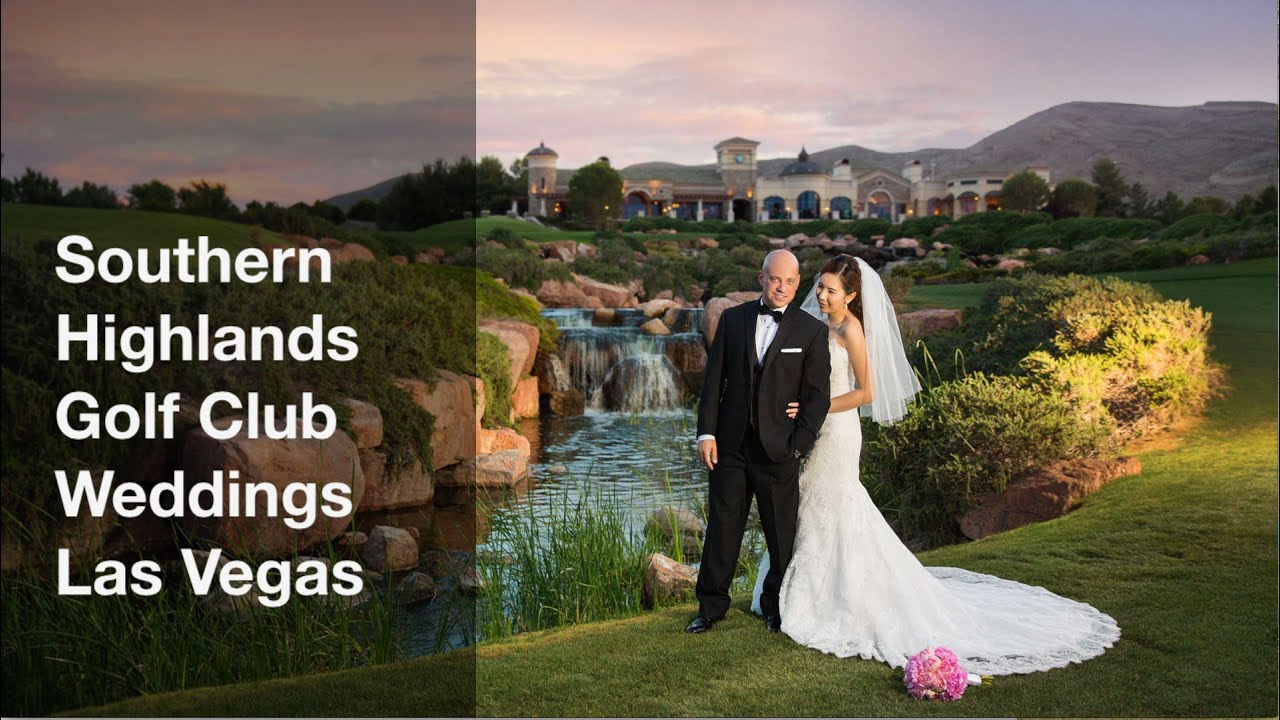 Southern Highlands Golf Club Wedding Photos Las Vegas