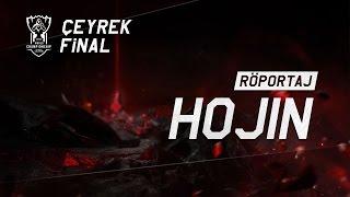 Worlds Çeyrek Finaller - KOO Tigers Hojin Röportajı