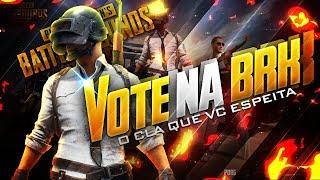 VOTE NA BrK! #GOBrK PUBG MOBILE NO IPAD (USE #CASTOR)