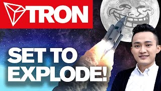 Tron Is Ready To Explode💥 Huge Price Swing Soon! To Da Moon?