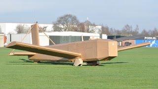 Smurfit Kappa's ingenuity flies sky-high with cardboard plane
