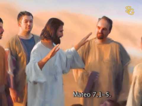 Lectura del santo evangelio del día según san Mateo (5,1-12):