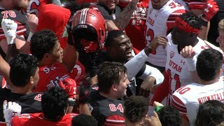 Recap: Utah football shows of defensive operations, offensive efficiency at Red-White Spring Game