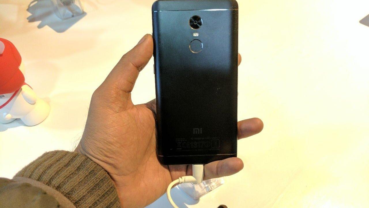 Xiaomi Redmi Note 4 [Matte Black] Hands On | India - YouTube