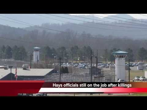 Hays State Prison officials not fired after inmate killings