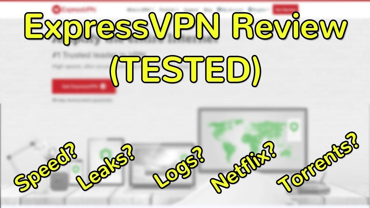 ExpressVPN Full Review (TESTED - Netflix, leaks, torrents)