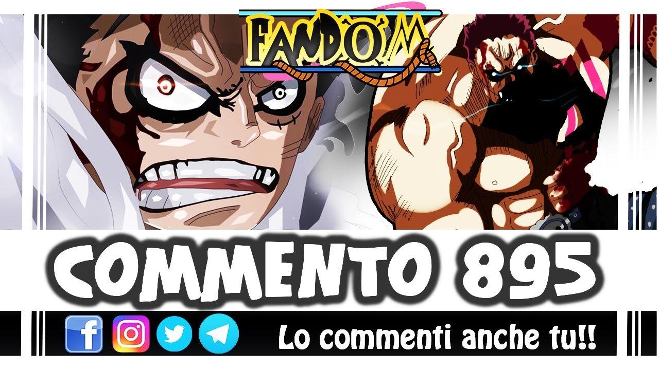 ONE PIECE 895 - Il Gear FOURTH che tutto può! Le tecniche di Rufy contro Katakuri - Fandom - YouTube