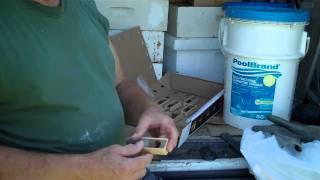 ReQueening Honeybee Colony Preparing Queen Cage DurhamsBee F