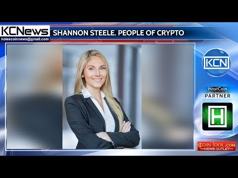 People of crypto – Shannon Steele