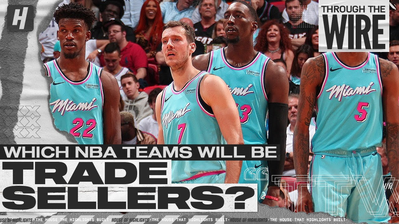 Which NBA Teams Will Be Trade Sellers?  | Through The Wire Podcast