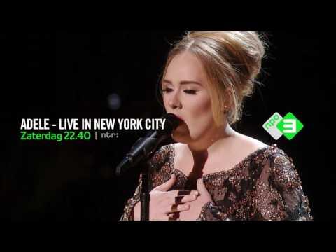 CONCERT Adele – Live in New York City – 31 december, 22.40 NPO 3