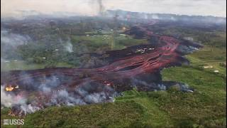 Kīlauea Volcano — May 19 Fissure and Flow