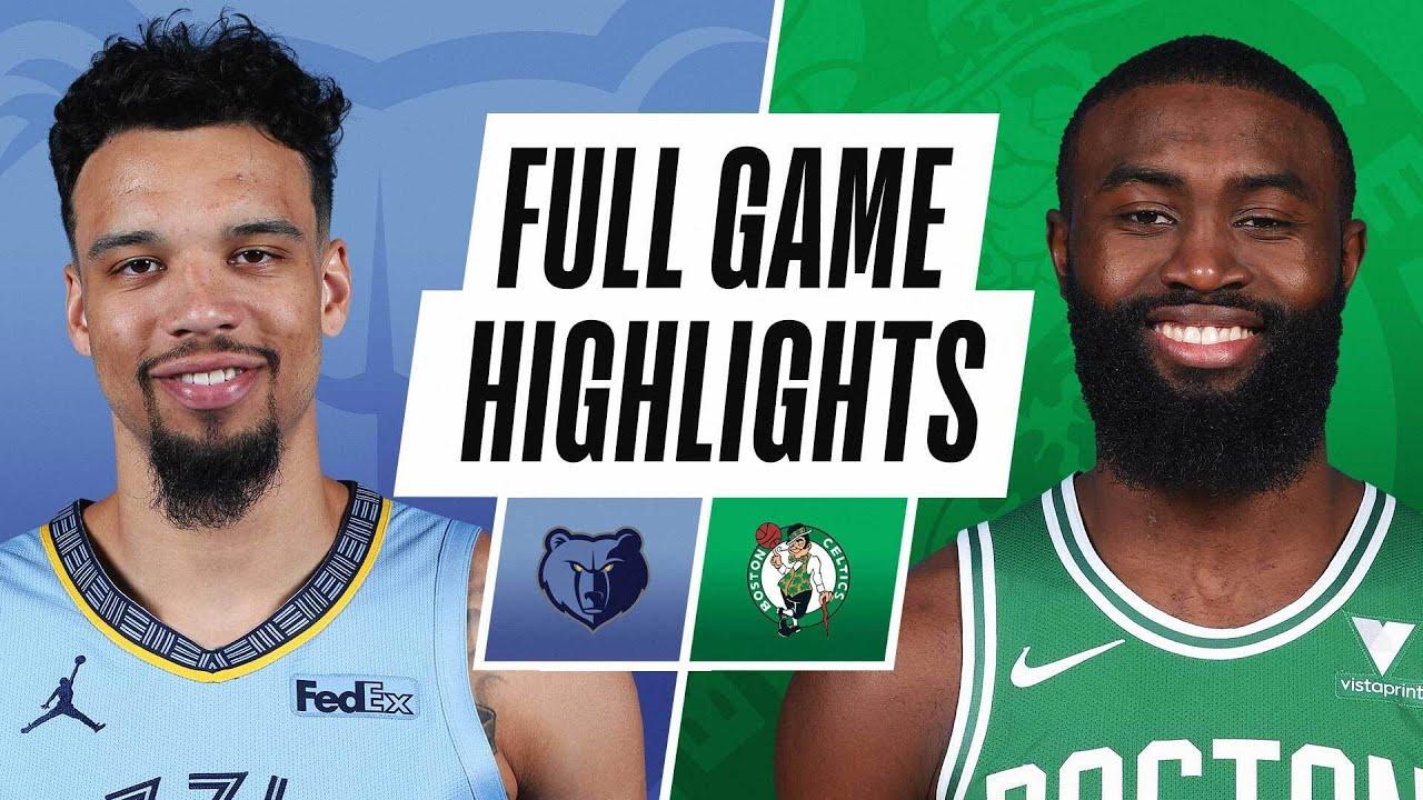 WATCH: Jaylen Brown career-high highlights vs Memphis Grizzlies ...