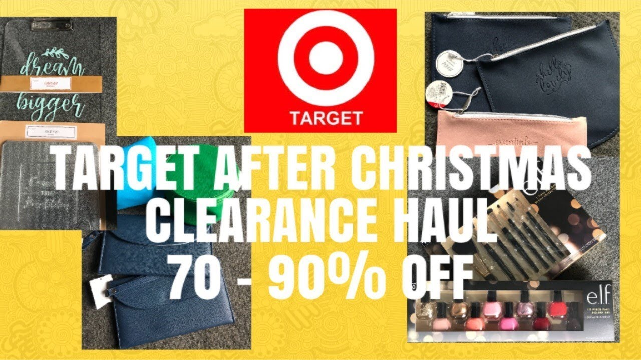 973decb5a56e3 Target After Christmas Clearance Haul 70-90% Off