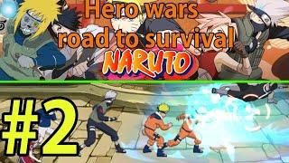 Ultimate Fight:Survival NARUTO  Прохождение ч2 - Проходим Всякое Разное