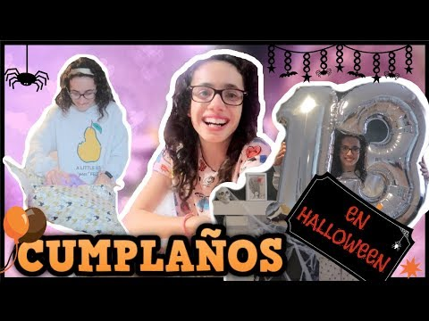 CUMPLEAÑOS de Sarah ambientado en HALLOWEEN | 26 Semanas de EMBARAZO | Familia Tutti Vlog
