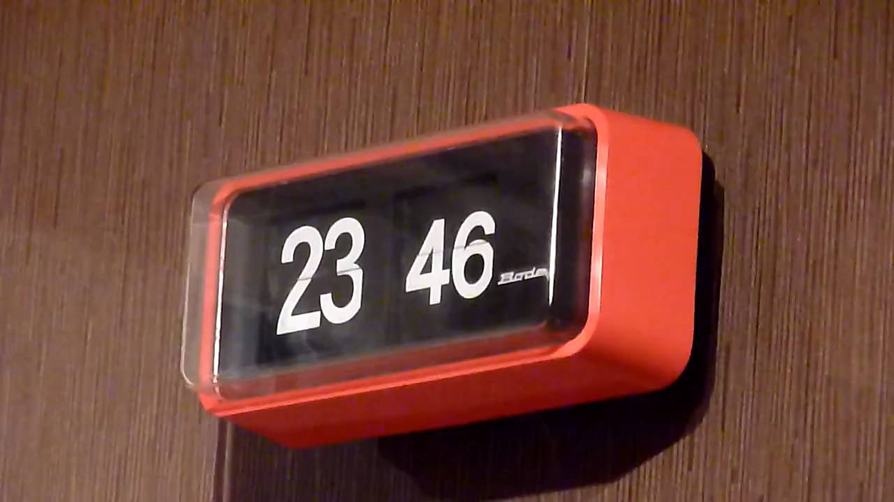 horloge palettes flip clock 2 youtube. Black Bedroom Furniture Sets. Home Design Ideas