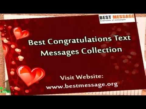 Sample Congratulations Messages Congratulation Quotes Wishes