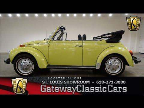 1974 Volkswagen Beetle - Gateway Classic Cars St. Louis - #6629