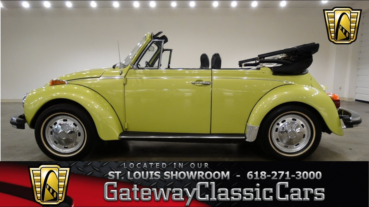 1974 volkswagen beetle gateway classic cars st louis 6629 1974 volkswagen beetle gateway classic cars st louis 6629 youtube publicscrutiny Image collections