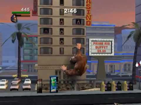 Rampage Total Destruction Ps2 Gameplay Youtube