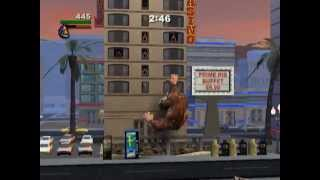 Rampage: Total Destruction (PS2 Gameplay)