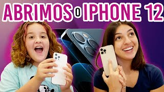 ABRINDO NOVO IPHONE 12 PRO MAX- unboxing