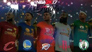 NBA 2K17 - Who Will Be NBA Champions 2017 ?