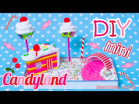 How To Make A Miniature Candyland Zen Garden – DIY Stress-relieving Desk Decoration