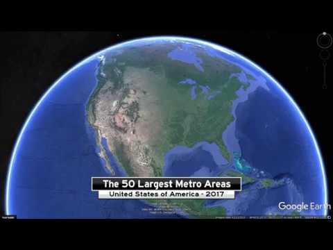 United States: 50 Largest Metro Areas