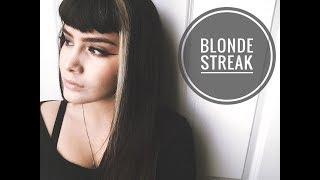 DIY Blonde Streak