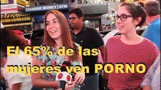 El 65% de las mujeres ven PORNO - #QuePregunta - New York City | Time Square