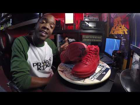 "dc0422af6324d7 Air Jordan 12 Retro ""Bulls"" - YouTube"