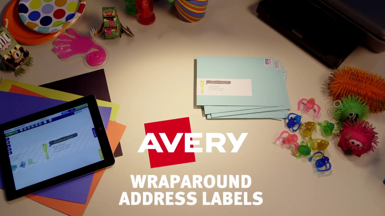Avery Wraparound Address Labels