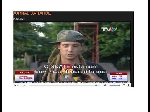 Pim Pomsy in Television of Mozambique (Maputo Skate)