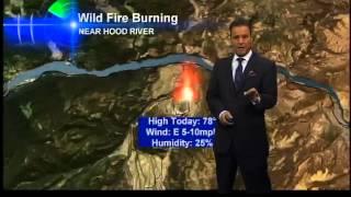 Matt Brode's PinPoint Hood River Fire Report